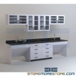 Chemical Laboratory Casework Cabinets Resin Trespa Counter Tops Tables