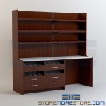 Manufactured Medication Dispensing Furniture Pharmacy Shelves Drawers Cabinets