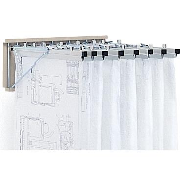 Wall Mounted Blueprint Rack Engineering Documents