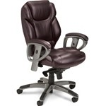 Mayline Series 300 Mid-Back with Synchro-Tilt and padded armrests, #SMS-31-UL330M