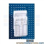 Pegboard Forms & Brochure Holder for Meta Square Hole Panels 838380-51