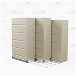 high capacity five shelf file cabinet with flipping doors with Free Shipping, Stores end tab letter and legal files behind locked doors