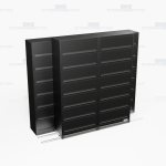 sliding seven tier flipping door cabinets with Free Shipping, Stores end tab letter and legal files behind locked doors