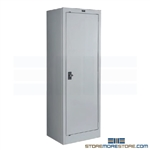 Counter High Slim Storage Cabinet Steel Narrow 410S181842