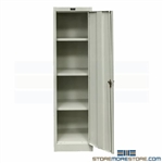 Slim Metal Storage Cabinet Tall Thin Locking 410S181866