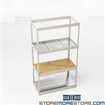 Long Span Shelving Racks Storage Bulky Boxes