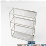 Heavy-Duty Storage Racks Retail Backroom Shelf