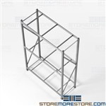 Hand Loaded Racks for Stockrooms Storing Large Cartons Boxes 5' Long Beams