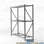 Boltless Wide Span Storage Shelving Racks Free Shipping Hallowell HBR9636123