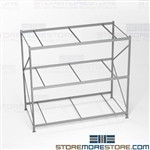 Hand Loaded Pallet Racks Storing Bulky Items 10' High 8' Beams Adjustable Shelves