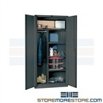 Welded Combination Type Storage Cabinet, Classic Series Hallowell DuraTough Cabinets