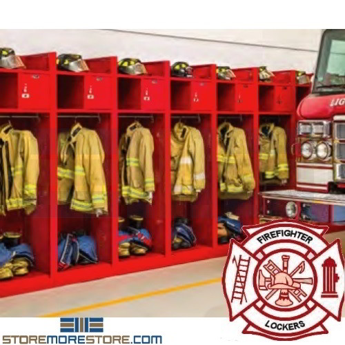 Turnout Gear Racks Firefighter Lockers Ventilated Drying