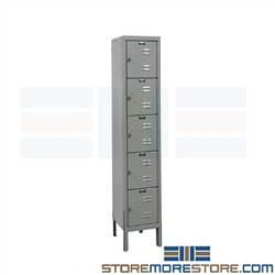 Employee Lockers Hallowell U1256-5PT