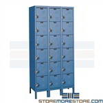 Pre-Built Steel Lockers