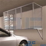 Over Car Bonnet Storage Condo Parking Garage Wire Mesh Car Locker Apartment