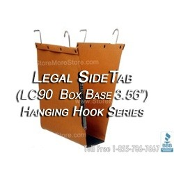 Oblique LC90Box Base Legal Size File Folder Hanging Compartments file folders for shelving units