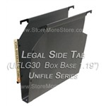 Oblique UFLG30 Box Base Unifile Legal Size Hanging File Folder Compartments