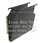Oblique UFLG80 Box Base Unifile Legal Size Hanging File Folder Compartments