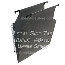 Oblique Uflg V Base Unifile Legal Size Folders Filing