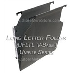 Oblique UFLTL V-Base Unifile Long Letter Size Hanging File Folder Compartments