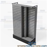 Sliding Track Cabinets for Small Parts Inventory Storage Quantum G-725309-80