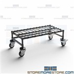 Mobile Dunnage Platforms Rolling Stand Stockroom Case Goods NSF Quantum M18366DE