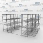 Sliding Wire Shelves and Ada Gliding Wire Shelf