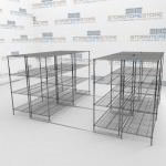 Chrome Wire Shelving and Heavy Duty Wire Shelving