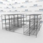 Sliding Wire Racks and Wire Rack Shelves