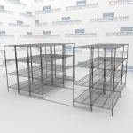 Condensed Wire Shelving and Wire Shelving Units