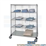 Wire Shelf Cart