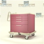 4 Drawer Medical Procedure Cart