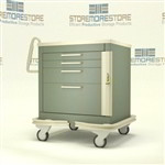 CDC Critical Isolation Cart | Surgical Cart | Operating room equipment cart