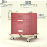 Rolling Emergency Drawer Emergency Room Cabinet | Surgical Equipment Emergency Room Cabinet