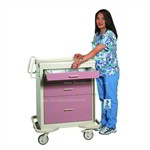 ER Crash Cart | ACLS Medical Critical Care Cart | Critical Isolation Cart