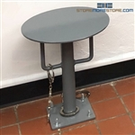 Handcuff Restraint Stool Temporary Detention Holding Seat Inmate Prisoner Police