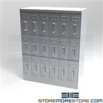 Probate Courthouse File Cabinet Drawers Storing Folded Legal Deeds Documents
