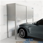 Parking Garage Car Bonnets Condo Cabinets Lockers Resident Storage Space