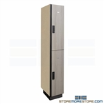 Two Door Wood Laminate Locker