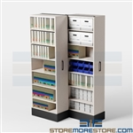 Rolling Compact Sheet Music Storage Solutions, Cabinets Shelves Shelving Racks