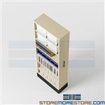 Space Saving Legal File Storage Cabinets, Pull-out Box Shelving Units