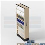 Space Saving Sliding Storage Solutions, Pull-out Cabinets Shelves Racks