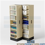 Band Music Equipment Shelving, Space Saver School Storage Cabinets