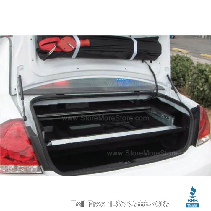 Trunk Mounted Firearms Locker Police Vehicle Weapon Safe