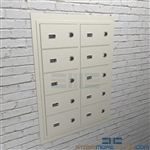Flush wall mounted sidearm security cabinets