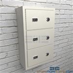 Police wall lockers are designed to mount to the wall to secure small arms and handguns temporarily.