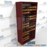 Deed Book Storage Rolling Shelf Cabinet Courthouse Roller Cabinets