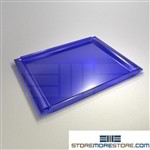 Styromega mail sorter tray IOPC replacement mail shelves PN 711.32 Blue