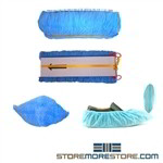 Non-Slip Fabric Disposable Shoe Covers for use with Shoe Inn Dispenser Ships Free