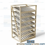 First-In First-Out Storage Racks Picking Gravity Flow Racks Roller Shelves
